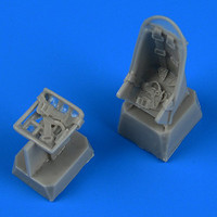 Ju87 Stuka Seats w/Safety Belts for ZVE & ACY 1/72 Quickboost
