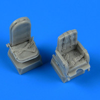 Mosquito Seats w/Safety Belts for TAM 1/72 Quickboost