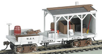 Old-Time MOW Blacksmith Car Western & Atlantic HO Scale Bachmann