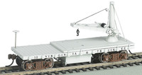 Old-Time MOW Derrick Car Virginia & Truckee HO Scale Bachmann