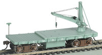 Old-Time MOW Derrick Car US Military HO Scale Bachmann
