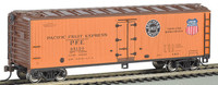 40' Wood Reefer Pacific Fruit Express N Scale Bachmann