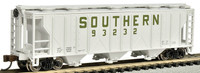 PS2 3-Bay Covered Hopper Southern N Scale Bachmann