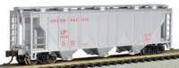 PS2 3-Bay Covered Hopper Union Pacific N Scale Bachmann
