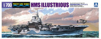 HMS Illustrious Aircraft Carrier Waterline 1/700 Aoshima