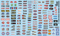 Drag Racing Goodies (Logos) 1/24-1/25 Gofer Racing Decals