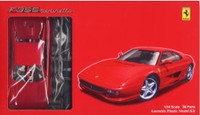 Ferrari F355 Berlinett Sports Car (Molded in Red) 1/24 Fujimi
