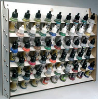 Wall Mounted Module Paint Display (Holds 43 17ml Bottles) Vallejo Paint