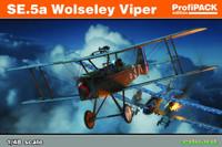 SE5a Wolseley Viper Aircraft (Profi-Pack Plastic Kit) 1/48 Eduard