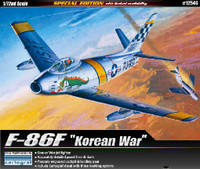 F-86F Korean War US Fighter 1/72 Academy