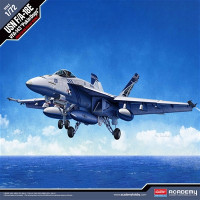 F/A-18E VFA143 Pukin Dogs USN Fighter 1/72 Academy