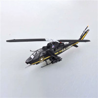 AH-1F Cobra Sky Soldiers Aerial Display Team (Built Up Plastic) 1/72 Easy Model