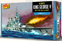 HMS King George V Battleship 1/750 Lindberg