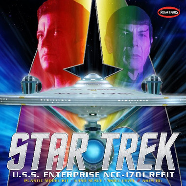 Star Trek USS Enterprise NCC-1701A Refit 1/350 Polar Lights