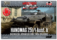 WWII Hanomag 251/1 Ausf A Halftrack 1/72 First To Fight Models