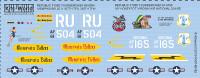 F-105D Memphis Belle 357th/355th Royal Thai Air Base, My Honeypot Virginia Air National Guard 1/48 Warbird/KitsWorld Decals
