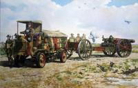 WWI FWD Model B 3-Ton Army Truck w/8-inch Howitzer Mk VI Gun 1/72 Roden