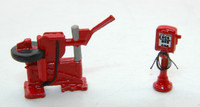Custom Tire Changer & Air Dispenser HO Scale JL Innovative Design