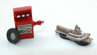 Custom Tire Balancer & Auto Junk Pile HO Scale JL Innovative Design