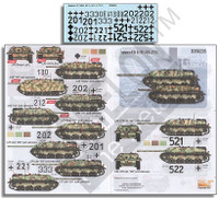 Jagdpanzer IV SdKfz 162 L/48 & L/70 (V) 1/35 Echelon Decals