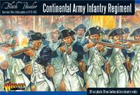 Black Powder: Continental Infantry Regiment 1776-1783 (30) (Plastic) 28mm Warlord Games