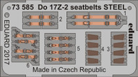 Seatbelts Do 17Z-2 Steel for ICM (Painted) 1/72 Eduard