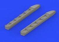Ki-61Id Exhaust Stacks for TAM (Resin) 1/48 Eduard