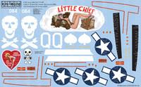 A-20G Havocs Little Chief, Miss Possum My Texas Gal 1/48 Warbird Decals