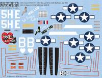 A-20G Havocs Miss Laid, Ridin High 1/72 Warbird Decals
