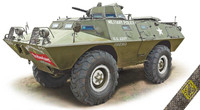 XM706E1 (V100) Commando Armored Patrol Car 1/72 Ace Plastic Models