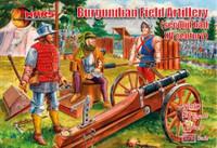2nd Half XV Century Burgundian Field Artillery (4 Guns, 24 Figures) 1/72 Mars Figures