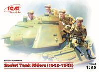 Soviet Tanks Riders 1943-1945 (4) 1/35 ICM Models