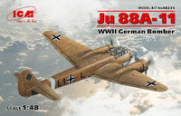 WWII German Ju 88A-11 Bomber 1/48 ICM Models