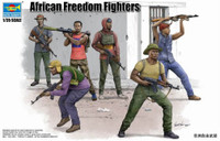 African Freedom Fighters Figure Set (6) 1/35 Trumpeter