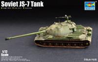 Soviet JS-7 (IS-7) Tank 1/72 Trumpeter