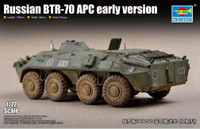 Russian BTR-70 Armored Personnel Carrier Early Version 1/72 Trumpeter