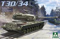 T30/34 US Heavy Tank 1/35 Takom