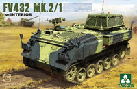 British FV432 Mk 2/1 Armored Personnel Carrier w/Interior 1/35 Takom
