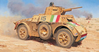 Autoblinda AB41 Armored Vehicle 1/72 Italeri