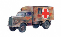 Kfz 305 Military Ambulance Truck 1/72 Italeri