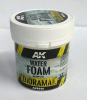 Diorama Series: Water Foam Acrylic 100ml Bottle AK Interactive
