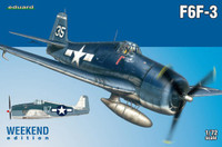 F6F-3 Fighter (Wkd Edition Plastic Kit) 1/72 Eduard