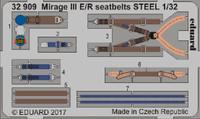 Seatbelts Mirage III E/R Steel for ITA (Painted) 1/32 Eduard