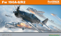 Fw 190A-8/R2 Aircraft (Profi-Pack Plastic Kit) 1/72 Eduard