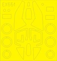 Su17M3/4 for KTY 1/48 Eduard Masks