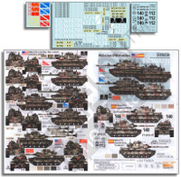 M60A3s in Europe (OPFOR Units & Others) 1/35 Echelon Decals