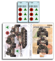 Reforger OPFOR Markings 1/35 Echelon Decals