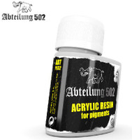 Acrylic Resin for Pigments 75ml Bottle Abteilung 502