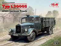 WWII German Type L3000S Truck 1/35 ICM Models