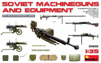 Soviet Machine Guns & Equipment 1/35 Miniart